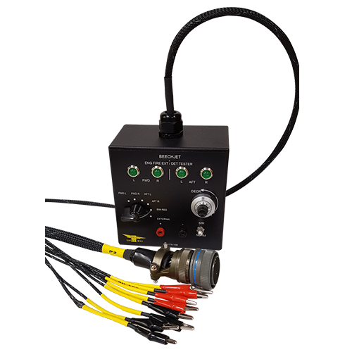 BeechJet Engine Fire Detection Extinguisher Test Box
